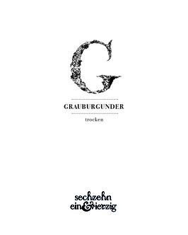 'Grauburgunder' QbA