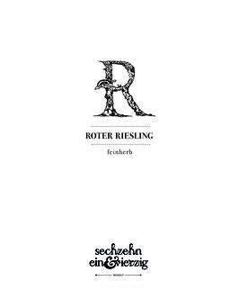 ' ROTER RIESLING ' QBA