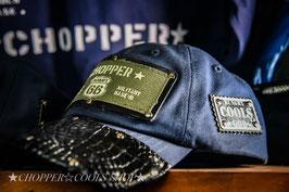 ★GOD CROCODILE CAP/Navy☆クロコダイル本革キャップ★