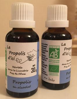 La Propolis en hydro-alcoolat