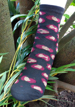 Jungs Socken aus Bambus Viskose,  Tiger Lock, Gr. 35/38, zwei Farben