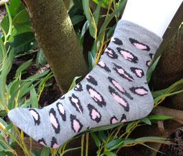 Mädchen Socken aus Bambus Viskose, Tiger Lock, Gr. 27/30, drei Farben