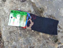 Socken für Jungs, Bambus Viskose, Auto mit Bärchen, Gr. 35/38, schwarz