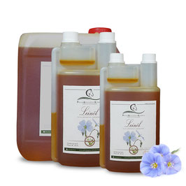 Leinöl für Pferde - kaltgepresst