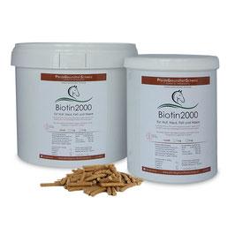 Biotin 2000 pelletiert mit Zink - Kupfer und Methionin