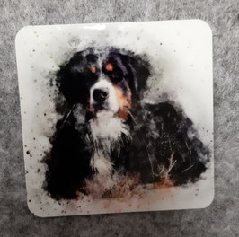 Deko-Magnet 'Berner Sennenhund'
