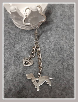 Schlüsselanhänger 'Dackel'