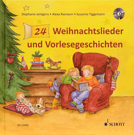 24 Weihnachtslieder und Vorlesegeschichten +CD