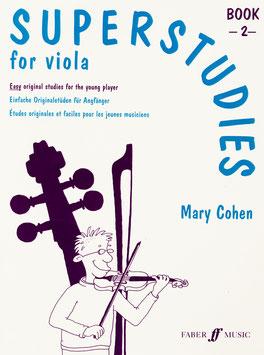 Superstudies for Viola, Book 2