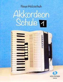 Neue Holzschuh Akkordeonschule, Band 1