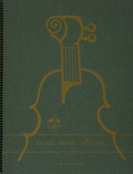 Notenbuch 24 Blatt 34 x 27 cm