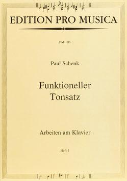 Funktioneller Tonsatz, Band 1: Arbeiten am Klavier