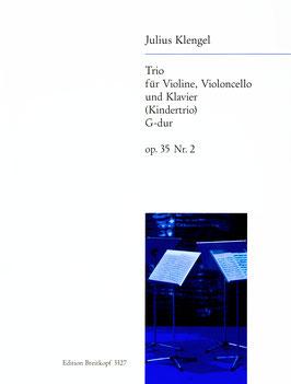 Trio für Violine, Violoncello und Klavier (Kindertrio) in G-dur, Op. 35, Nr. 2