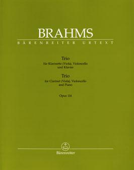 Trio für Klarinette (Viola), Violoncello und Klavier op. 114