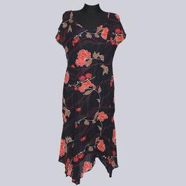 Viskose Zipfel-Kleid Lisa, Gr. 44