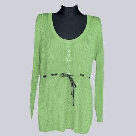 Long Pullover, Gr. 48/50, grün