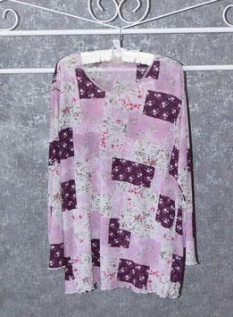 Tolle Shirt-Tunika in Patchwork-Optik, Gr. XL