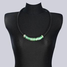 Halskette Tinka, grün