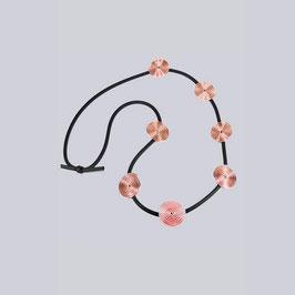 Halskette MyBeeli Frederieke, rosegoldfarben