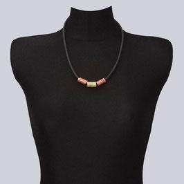 Halskette Jea One, Rosegoldfarben/champagnerfarben
