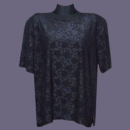 Elastisches Shirt, Gr. 48/50, schwarz