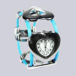 Mädchen-Armbanduhr Herzchen