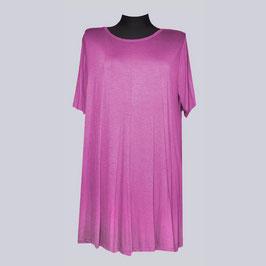 Leichtes Viscose/Elasthan Long Shirt Enita, Gr. 52, pink