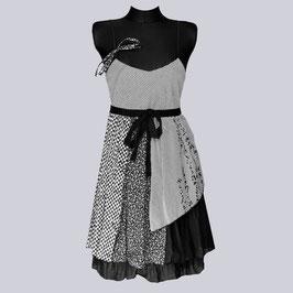 Kleid Lulu H. Paris mit Stretcheinsatz, Gr. M/L