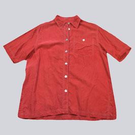 Edles Seiden-Hemd mit Kontrastnähten