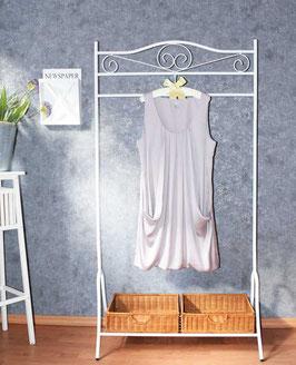 Feine Tunika im Nude-Look von H&M, Gr. 46