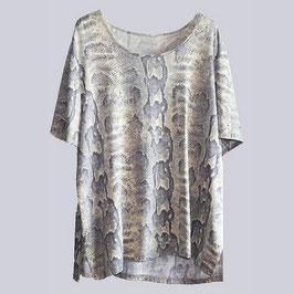 Stretch Shirt, Animal Print, Gr. 48