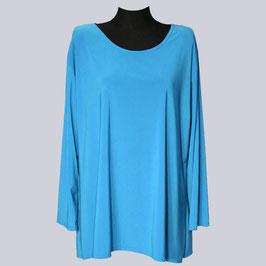Basic Shirt Britta, Gr. 50,  türkis