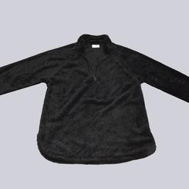 Kuscheliger Pullover, schwarz, Gr. XL