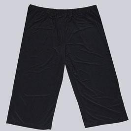 Capri-Hose Bonnie, schwarz, Gr. 50