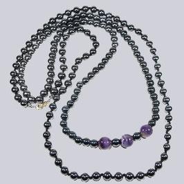 Zwei wunderschöne, schimmernde Perlenketten Maria