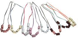 Schöne Halsketten Jea-Mary in unterschiedlichen Farben...