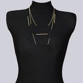 Feine Halskette Lucie, goldfarben