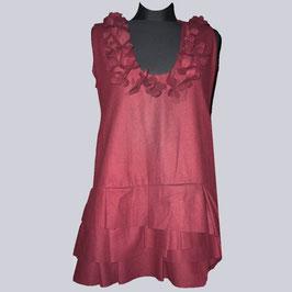 Wunderschönes Kleid, Long Tunika, bordeux, Gr. XL