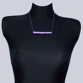 Samt-Halskette Lilsty