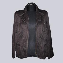 Schöne Jacke, braun, Gr. 42