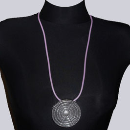 Halskette Shiela, rosa