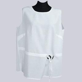 Weißes Shirt mit schönen Details Gr. 46