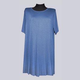 Leichtes Viscose/Elasthan Long Shirt Enita, Gr. 52, taubenblau
