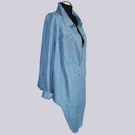 Flottes Sheego Jeans Hemd, Gr. 56/58