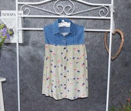 Pfiffige Jeans-Bluse, Gr. M