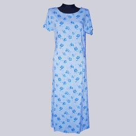 Langes Kleid mit Blümchen, Gr. 40