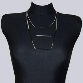 Halskette Lucie, silberfarben