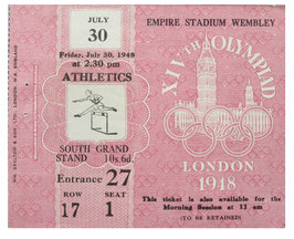 Ticket, Athletics