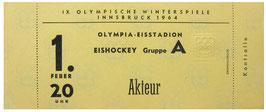 Full Ticket, Ice Hockey