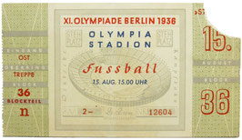 Ticket, Soccer, final game